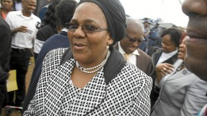 Transport Minister Dipuo Peters. (Delwyn Verasamy, M&G)