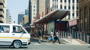 The Bus Rapid Transit System Photo: Duane Daws