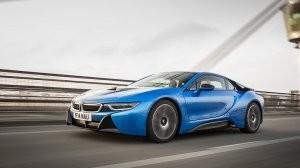 The BMW i8 Electric Car