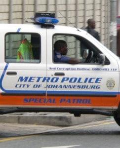 Johannesburg Metro Police. (File)